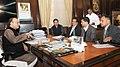 The Chief Minister of Arunachal Pradesh, Shri Pema Khandu and the Deputy Chief Minister of Arunachal Pradesh, Shri Chowna Mein meeting the Union Minister for Finance and Corporate Affairs, Shri Arun Jaitley, in New Delhi.jpg