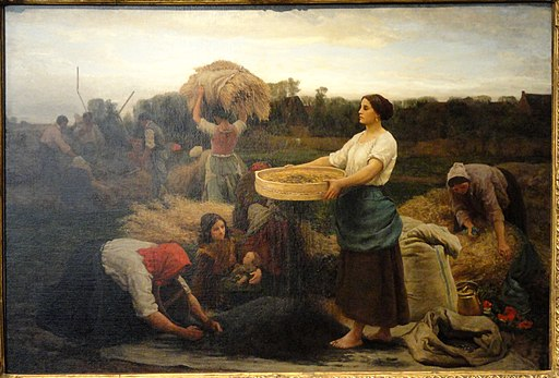 The Colva (Harvesting Rapeseed) by Jules Adolph Aime Louis Breton, 1860 - Corcoran Gallery of Art - DSC01318