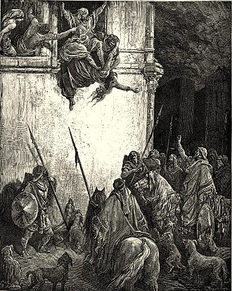 Jezebel - The Death of Jezebel by Gustave Doré