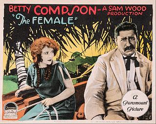 <i>The Female</i> (1924 film) 1924 film by Sam Wood