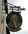 The King's Head sign, 11 Park Lane - geograph.org.uk - 1839191.jpg