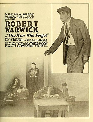 Robert Warwick - The Man Who Forgot, 1917