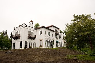 William Lawrence Bottomley - Bottomley designed two homes in Maine. This is his Mediterranean-style house in Castine.