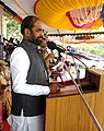 The Minister of State for Home Affairs, Shri Hansraj Gangaram Ahir addressing at the Passing Out Parade of Puducherry Police personnel and Indian Reserve Battalion personnel, at Puducherry on February 28, 2017.jpg