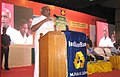 The Minister of State for Road Transport & Highways and Shipping, Shri P. Radhakrishnan addressing after the launch of the Pradhanmantri SurakshaYojana, at Madurai on May 09, 2015.jpg