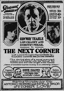<i>The Next Corner</i> 1924 film by Sam Wood