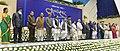 The President, Shri Pranab Mukherjee, the Vice President, Shri Mohd. Hamid Ansari and the Prime Minister, Shri Narendra Modi attends 75th birthday celebrations of Shri Sharad Pawar, in New Delhi on December 10, 2015 (2).jpg