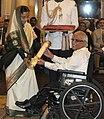 The President, Smt. Pratibha Devisingh Patil presenting the Padma Bhushan Award to Dr. Suresh Hariram Advani, at an Investiture Ceremony I, at Rashtrapati Bhavan, in New Delhi on March 22, 2012.jpg