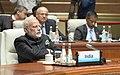 The Prime Minister, Shri Narendra Modi at the Plenary Session of the 9th BRICS Summit, in Xiamen, China on September 04, 2017 (1).jpg