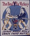 "The Real ""V"" for Victory. Joined Hands will Crack These Nuts^ - NARA - 534472.jpg"