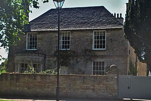 Bampton, Oxfordshire - Churchgate House (the old rectory)