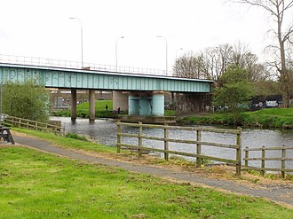 Belfast–Newry line - Image: The River Bann geograph.org.uk 787456