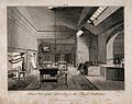 The Royal Institution, Albemarle Street; the laboratory. Eng Wellcome V0013852.jpg