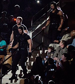 The Shield (professional wrestling) - The Shield made their entrance by the arena steps