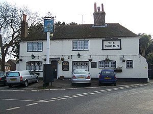 Southfleet - The Ship Inn in the centre of Southfleet