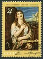 The Soviet Union 1971 CPA 4019 stamp (Penitent Magdalene (Titian)) cancelled.jpg