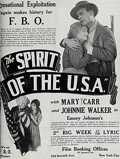 <i>The Spirit of the USA</i> 1924 film