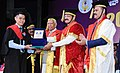 The Vice President, Shri M. Venkaiah Naidu presenting the Degrees to the Students, at the 20th Convocation of Rajiv Gandhi University of Health Sciences, in Bengaluru (3).jpg