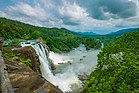 The View of the Athirapally Falls during the onset of Monsoon.jpg
