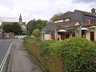 Netley Marsh Human settlement in England