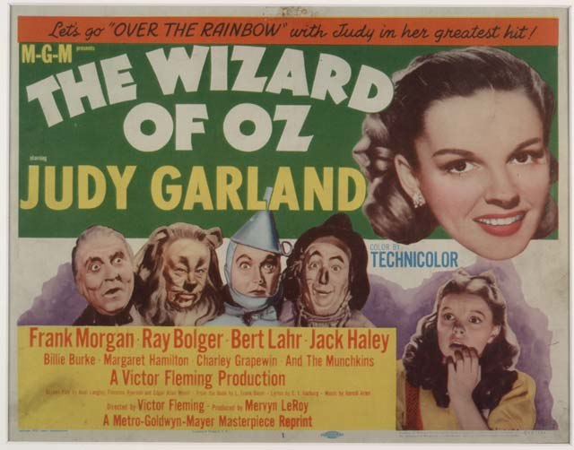 The Wizard of Oz 1955 Lobby Card