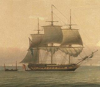 HMS <i>Anson</i> (1781) Intrepid-class ship of the line