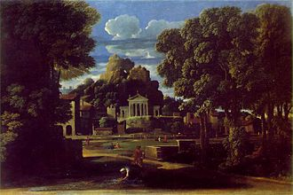 Phocion - The ashes of Phocion collected by his widow by Nicolas Poussin (1648)