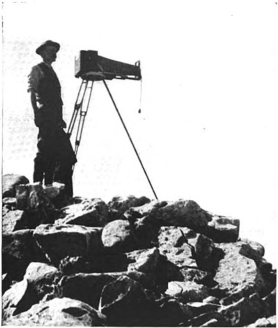 The author ready to take a panoramic view from summit of Mount Field.jpg