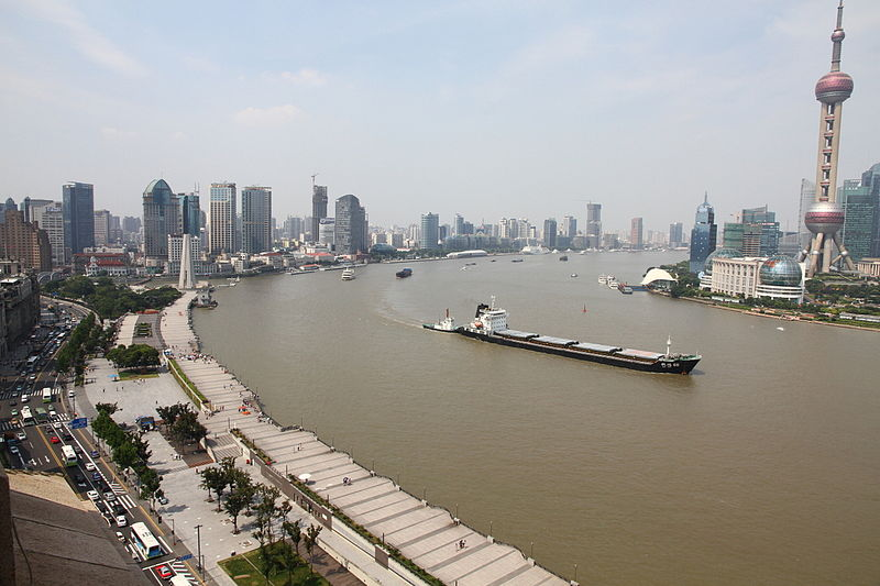 Vaizdas:The bund, looking north east as viewed from the custom house bell tower.JPG