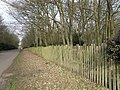 The fence around Lilford Park - geograph.org.uk - 1184903.jpg