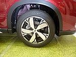 The tire wheel of Subaru FORESTER Advance (5AA-SKE).jpg