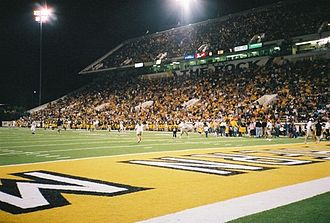 "Southern Miss Golden Eagles football - M. M. Roberts Stadium – ""The Rock"""