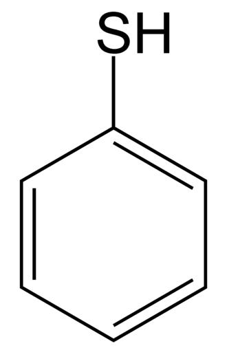 Thiophenol - Image: Thiophenol 2D