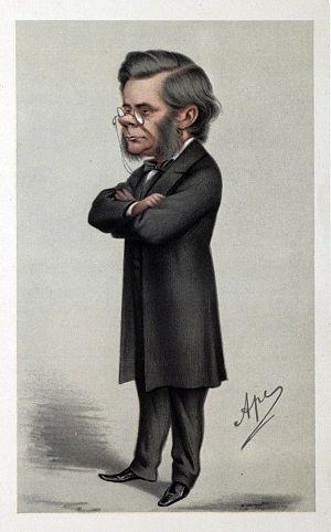 Carlo Pellegrini (caricaturist) - Image: Thomas Henry Huxley 01