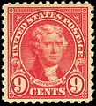 Thomas Jefferson 9c 1923 Issue.jpg