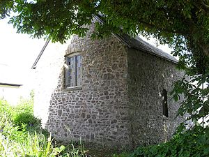 Milford Haven Waterway - St Thomas a Becket Chapel, dedicated 1180 and used as a beacon church