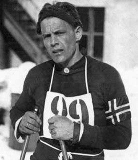 Thorleif Haug Nordic skier