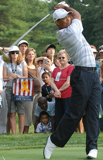 Multiracial Americans - Tiger Woods was born to an Asian mother and African-American father.