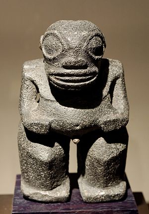 Tiki - Tiki statuette from the Marquesas