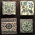Tiles, Damascus, Syria, 17th-18th century - Staatliches Museum für Völkerkunde München - DSC08561.JPG