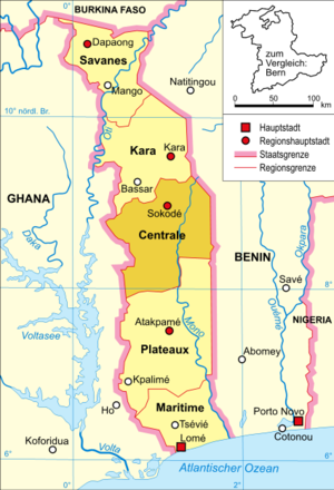 Centrale Region of Togo