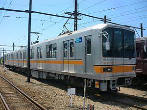 Kumamoto Electric Railway - Image: Tokyo Metro 01 series Kumamoto Electric Railway 136