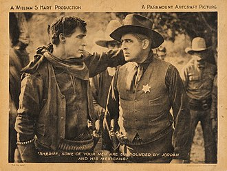 The Toll Gate - William S. Hart and Jack Richardson in The Toll Gate