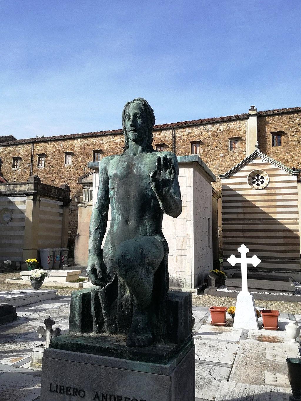 Tomba Libero Andreotti Cimitero delle Porte Sante