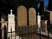 Tomba di Flaubert e della famiglia al Cimetière Monumental, Rouen