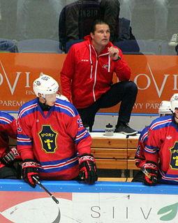 Tomek Valtonen Polish-born Finnish ice hockey player and coach