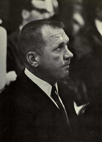 Tommy Bartlett (basketball) - Bartlett from 1967 Seminole yearbook