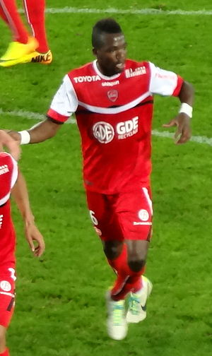 Tongo Doumbia - Doumbia playing for Valenciennes in 2013