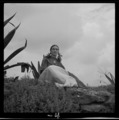 Toni Frissell - Frida Kahlo, seated next to an agave - original.tif