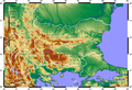 Topographic Map of Bulgaria Blank.png